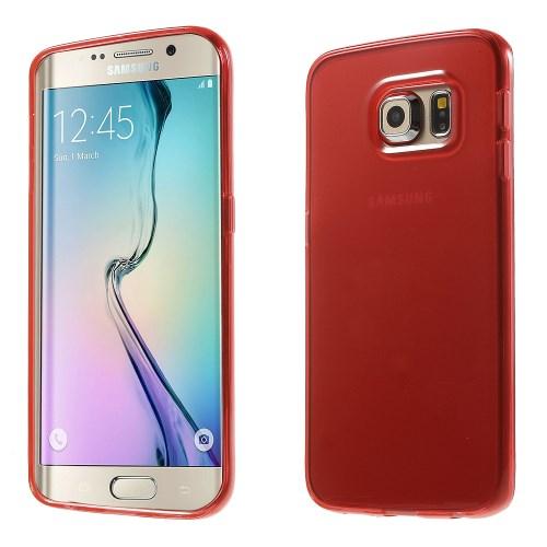 Billede af Samsung Galaxy S6 Edge cover i TPU, rød