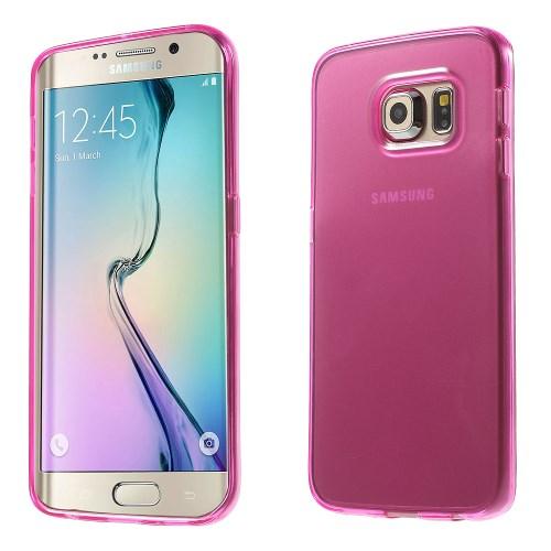 Billede af Samsung Galaxy S6 Edge cover i TPU, pink