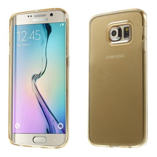 Billede af Samsung Galaxy S6 Edge cover i TPU, Champagne