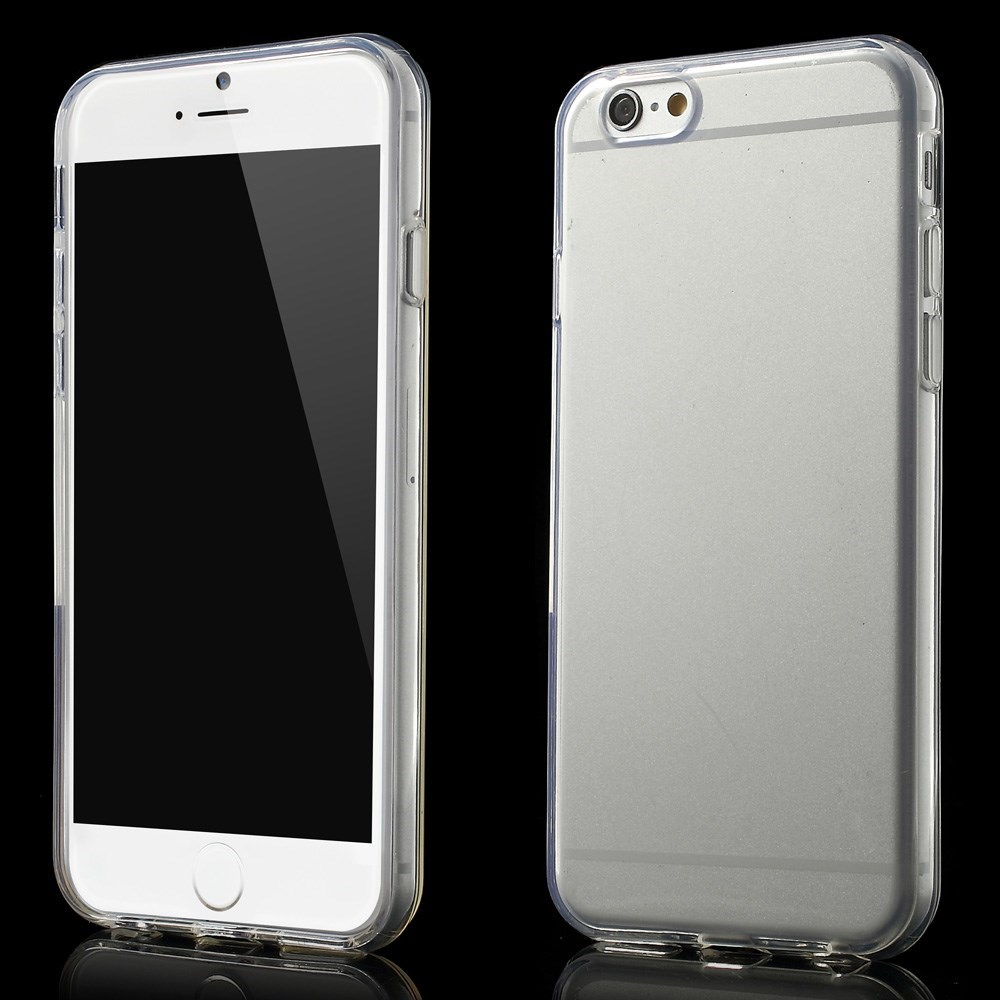 Gennemsigtigt iPhone 6 cover i TPU, gennemsigtig