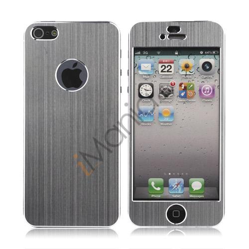 Luksus iPhone 5 Aluminium Skin, Sølv / Aluminium