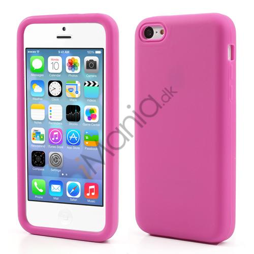 Image of   Blødt silikonecover til iPhone 5C, pink