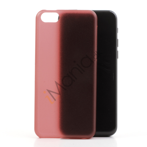 Image of   Mat 0,4mm cover til iPhone 5C, rød