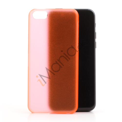 Image of   Mat 0,4mm cover til iPhone 5C, orange