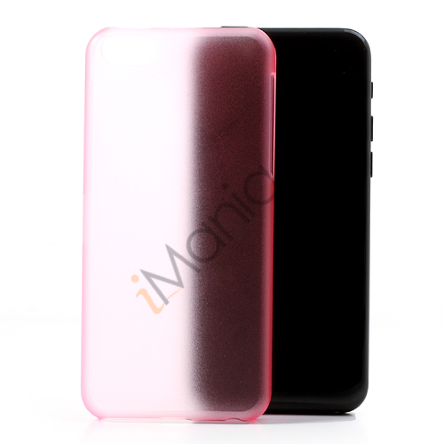 Image of   Mat 0,4mm cover til iPhone 5C, pink