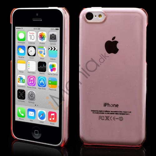 Image of   Gennemsigtigt iPhone 5C cover, let pink