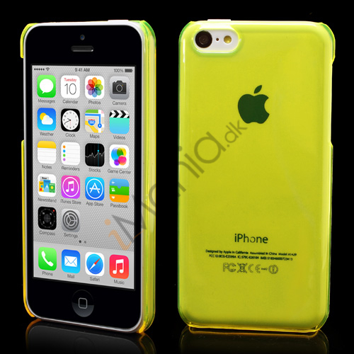 Image of   Gennemsigtigt iPhone 5C cover, Gul