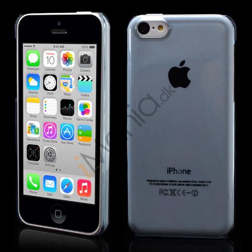 Image of   Gennemsigtigt iPhone 5C cover, Babyblå