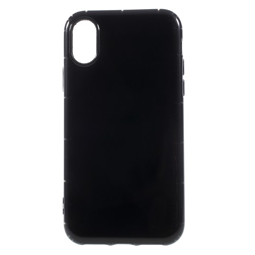 Klassisk iPhone X TPU-cover - Sort