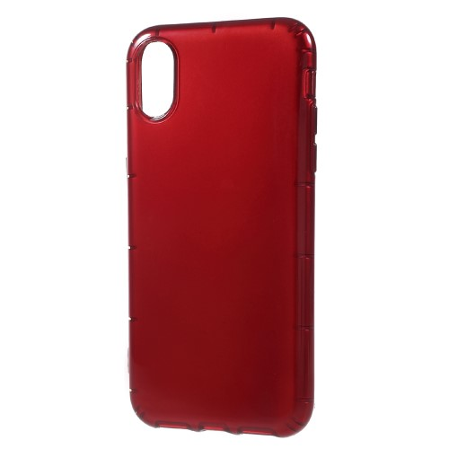Klassisk iPhone X TPU-cover - Rød