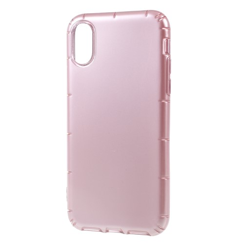 Klassisk iPhone X TPU-cover - Pink