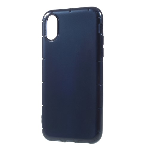 Klassisk iPhone X TPU-cover - blå