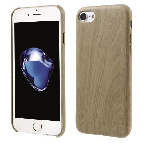 Træmønstret iPhone 7 cover, khaki