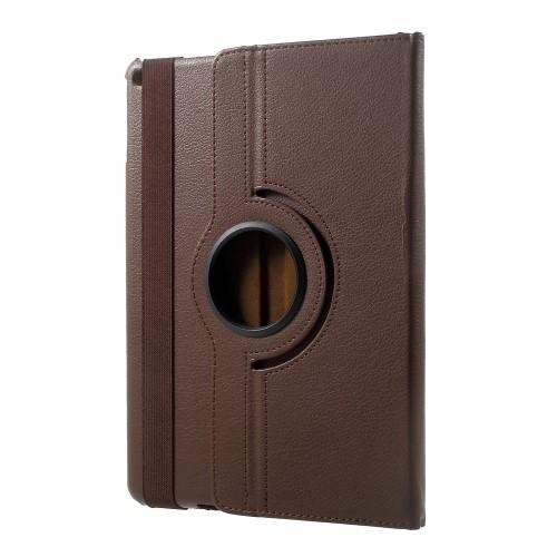 iPad 2017 PU-læderetui, brun