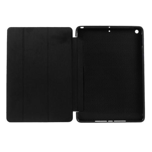 iPad foldecover med TPU-bagside, sort