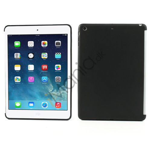 TPU bagsidecover til iPad Air, sort
