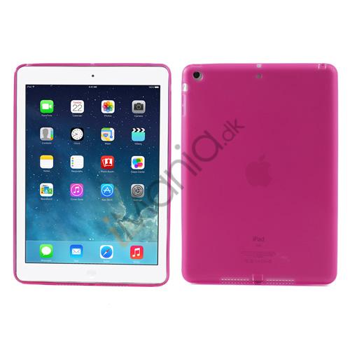 Pink bagsidecover til iPad Air med støvbeskyttere