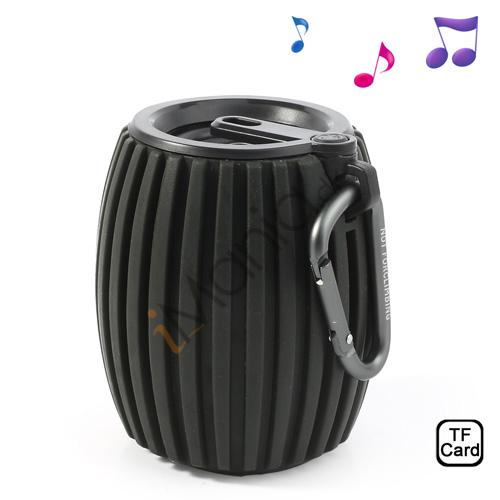 Tøndeformet Bluetooth Højtaler, sort