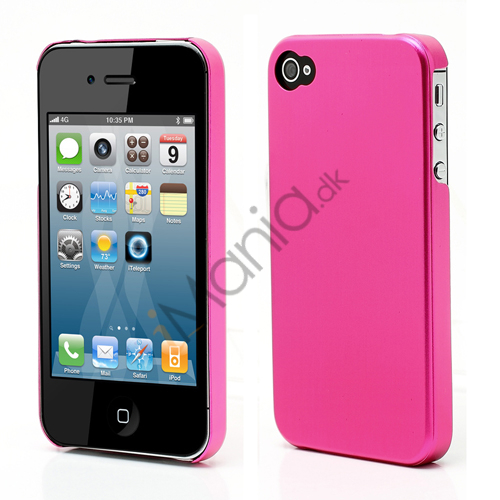 Tyndt iPhone 4 Aluminium Cover, Pink Metal