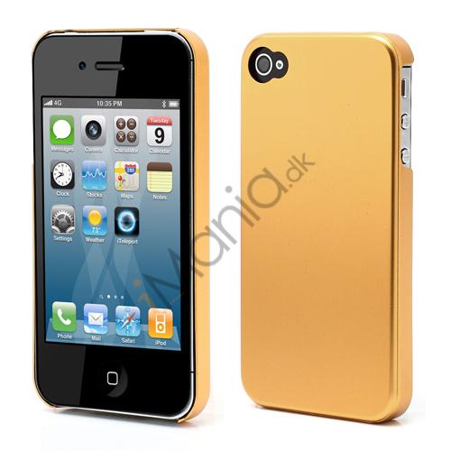 Billede af Tyndt iPhone 4 Aluminium Cover, Guldfarvet