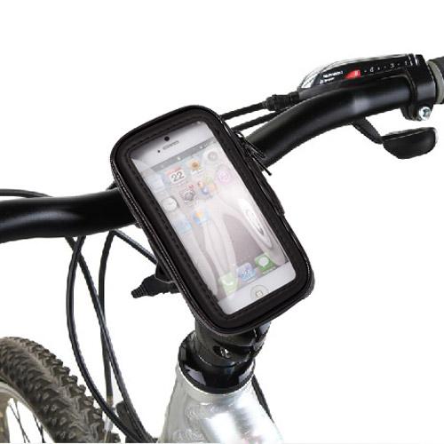 Vandafvisende iPhone 5 cykelholder