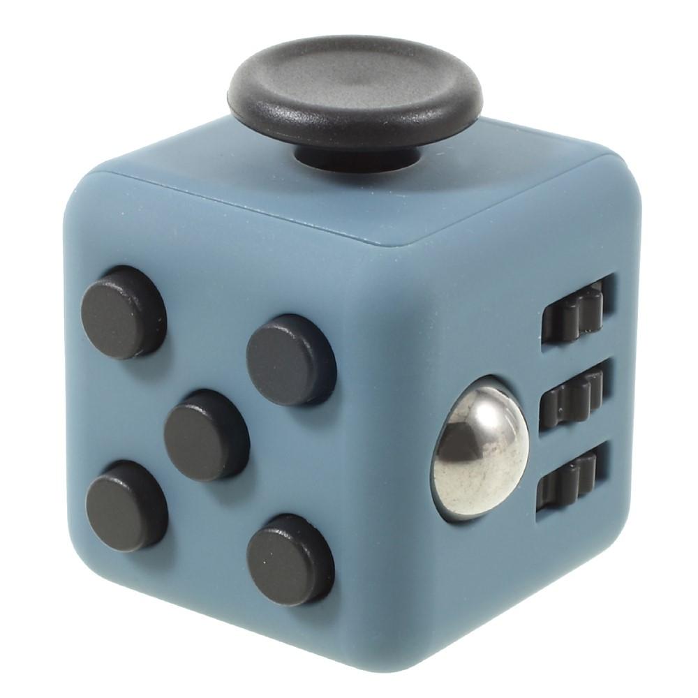 Fidget cube - blå / sort