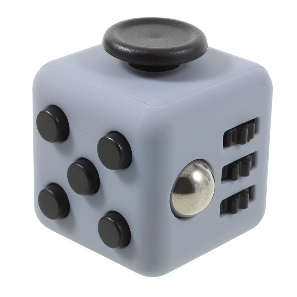 Fidget cube - Grå / sort