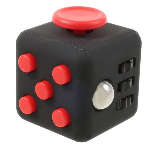 Billede af Fidget cube - sort/rød