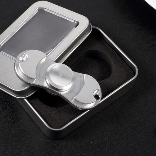 Billede af Lux alu fidget spinner, sølvfarvet