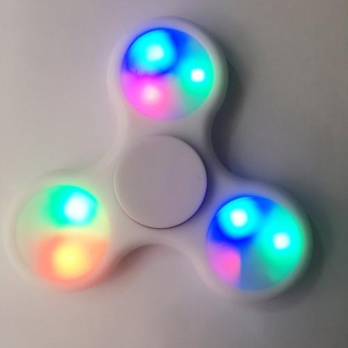 Billede af LED Fidget Spinner - Hvid