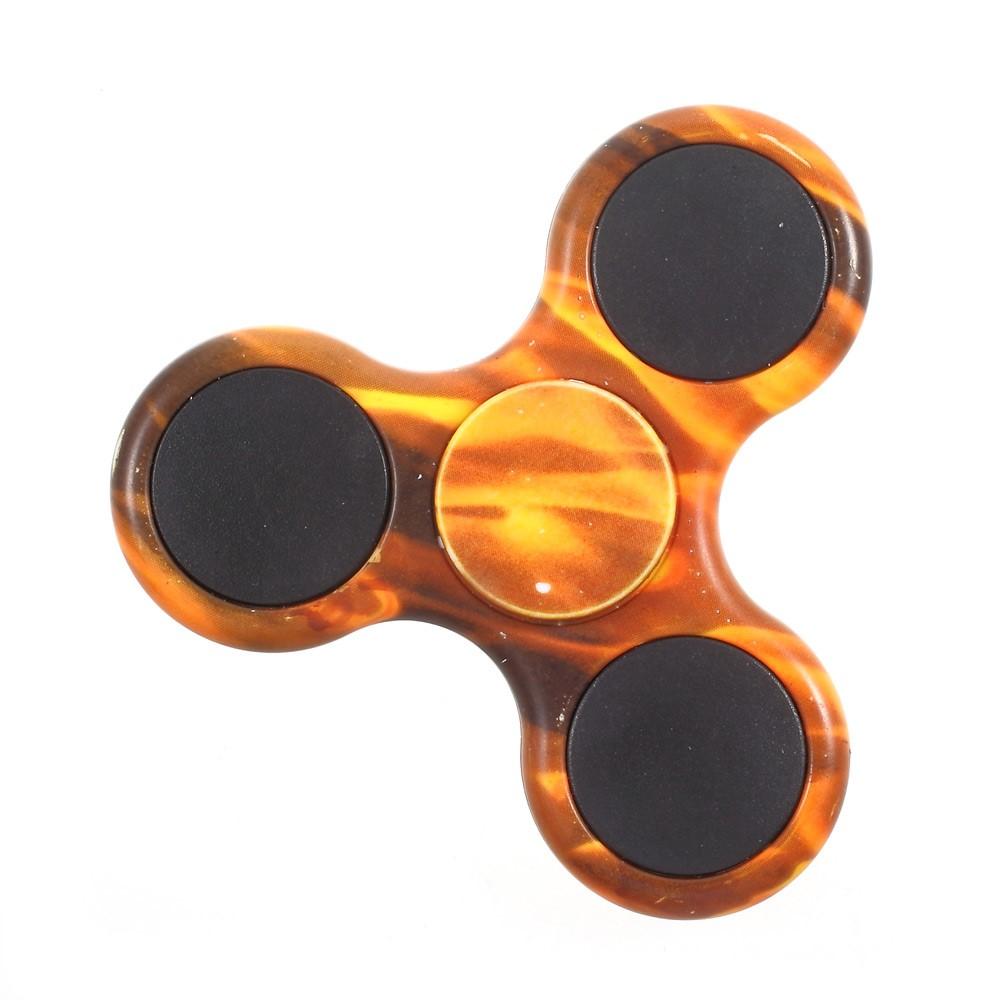 Billede af Fidget spinner med camouflagemønster - Brun