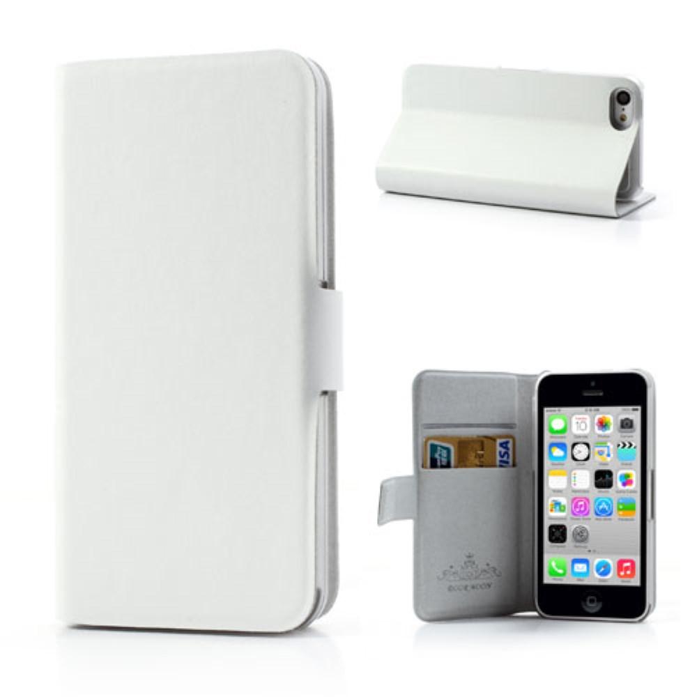 Image of   iPhone 5C etui i ægte læder, hvid