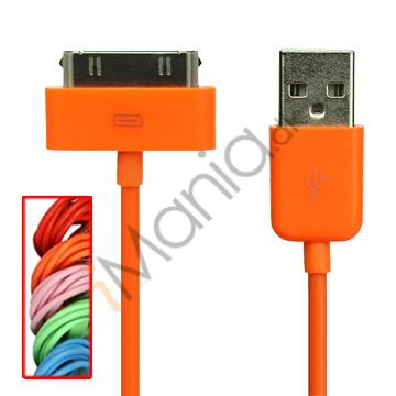 iPhone USB kabel i flere farver 1 meter