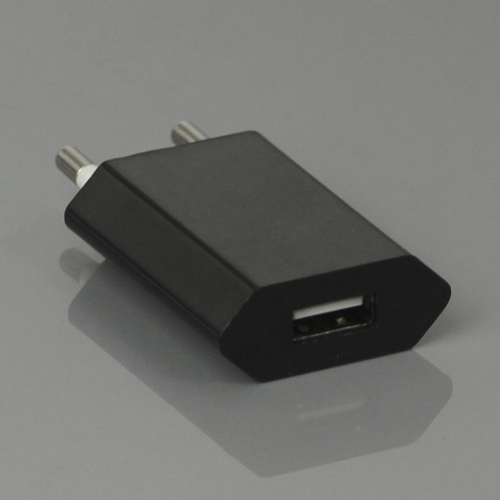 iPhone 220v USB lader, sort