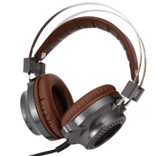 Gaming-headset med LED-lys