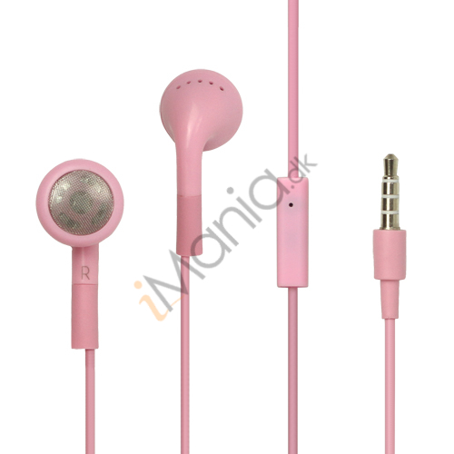 iPhone headset, pink