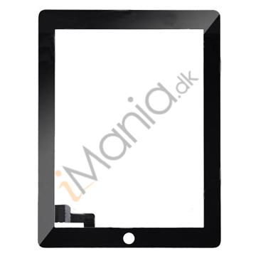 iPad 2 Glas / Digitizer, sort/hvid eller diverse farver