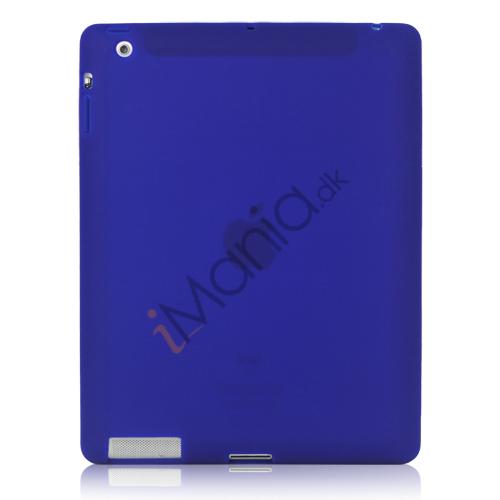 Image of   Blødt Silikone Cover Taske til Den Nye iPad 2. 3. 4. Generation - Blue