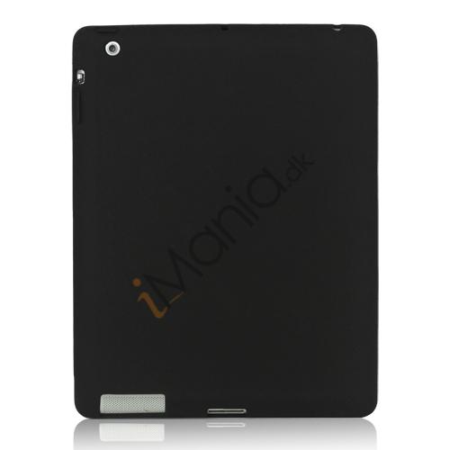 Billede af Blødt Silikone Cover Taske til Den Nye iPad 2. 3. 4. Generation - Sort
