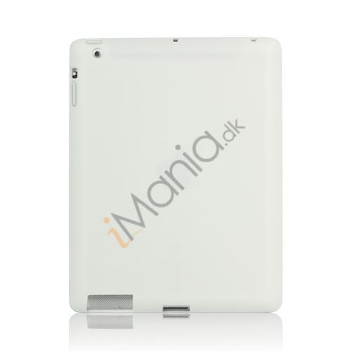 Image of   Blødt Silikone Cover Taske til Den Nye iPad 2. 3. 4. Generation - Hvid