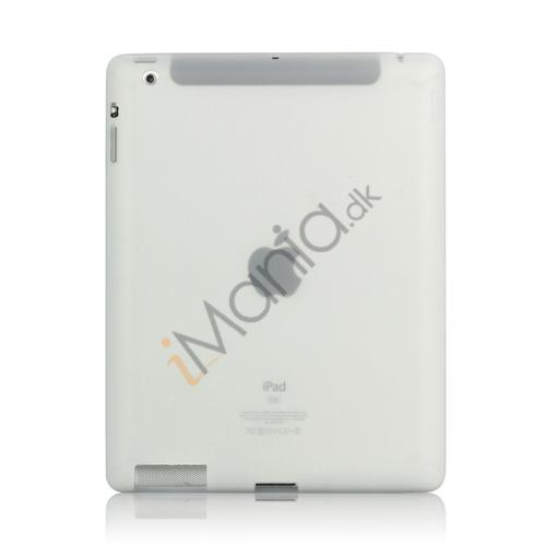 Image of   Blødt Silikone Cover Taske til Den Nye iPad 2. 3. 4. Generation - Gennemsigtig