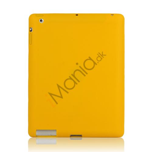 Image of   Blødt Silikone Cover Taske til Den Nye iPad 2. 3. 4. Generation - Gul