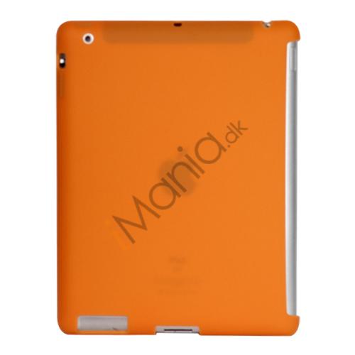 Image of   Naked Smart Cover Companion Silikone Taske til Den Nye iPad 2. 3. 4. Gen - Orange
