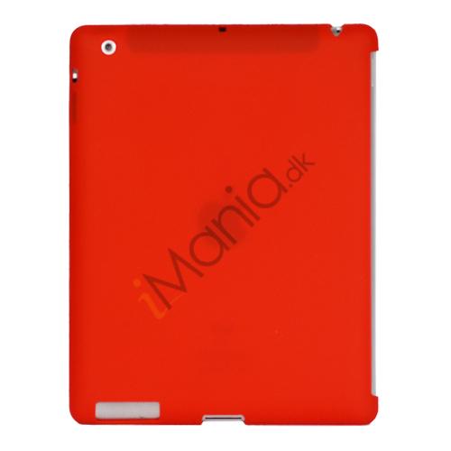 Image of   Naked Smart Cover Companion Silikone Taske til Den Nye iPad 2. 3. 4. Gen - Rød
