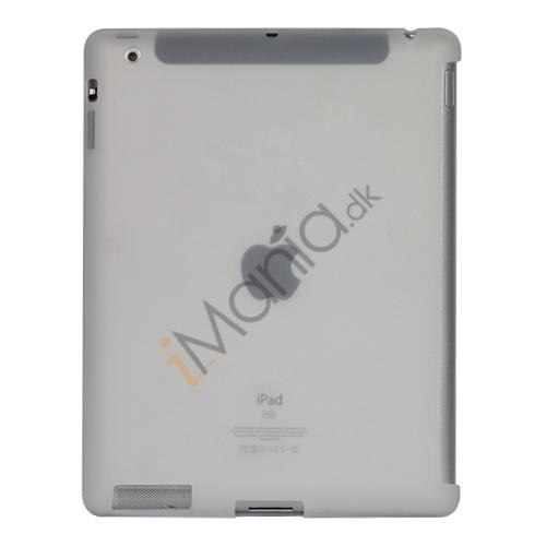 Image of   Naked Smart Cover Companion Silikone Taske til Den Nye iPad 2. 3. 4. Gen - Transparent