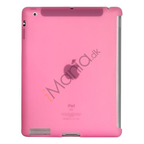 Image of   Naked Smart Cover Companion Silikone Taske til Den Nye iPad 2. 3. 4. Gen - Pink