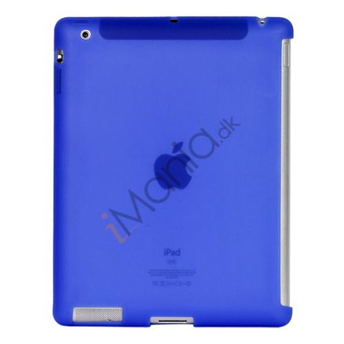 Image of   Naked Smart Cover Companion Silikone Taske til Den Nye iPad 2. 3. 4. Gen - Mørkeblå