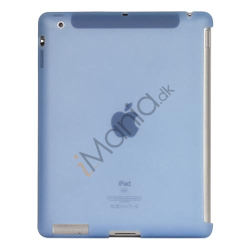 Image of   Naked Smart Cover Companion Silikone Taske til Den Nye iPad 2. 3. 4. Gen - Baby Blue