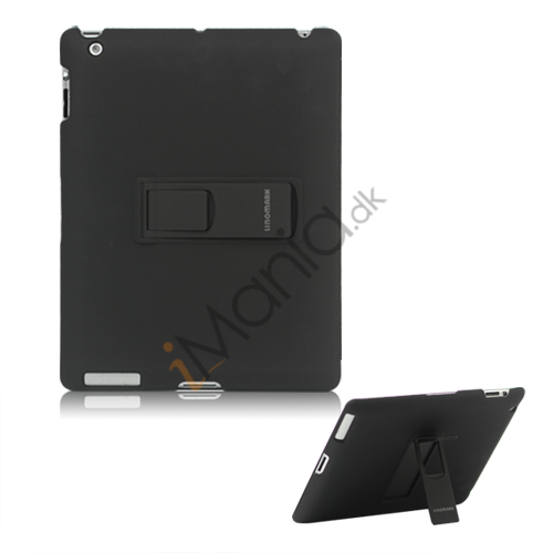 Image of   Slim Magnetisk Hard Smart Cover med Stand til Den Nye iPad 2. 3. 4. Generation - Sort