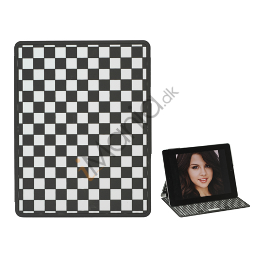 Gitter Plastic Smart Cover med holder til iPad 2. 3. 4. Gen - Hvid